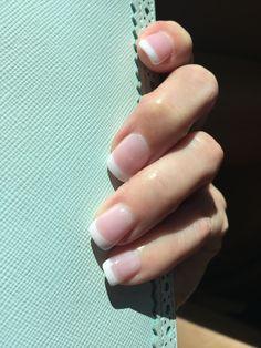 Nexgen powder dip French manicure #nexgen #frenchmanicure