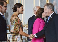 Sauli Niinist, Finland's political leader, joined the Swedish royals to celebrate 100 year's of Finnish independence
