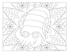 Free printable Pokemon coloring page-Omanyte. Visit our page for more coloring! Coloring fun for all ages, adults and children. Coloring Book Pages, Coloring Pages For Kids, Kids Coloring, Charmeleon Pokemon, Pokemon Coloring Sheets, Black Pokemon, Coloring Stuff, Fantasy Girl, Doodle Art