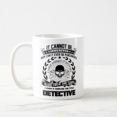 Detective Mug Detective Coffee Mug Travel Gifts - girl gifts special unique diy gift idea