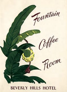 grab a meal or a treat at the beverly hills hotel fountain coffee room