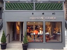 The newly opened Hudson I Grace on Sacramento Street in San Francisco, is the dream of Monelle Totha and Gary McNatton. I had the plea...