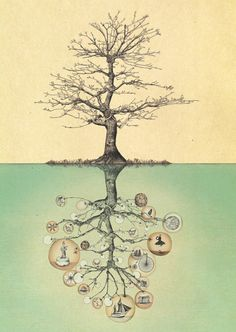 Illustration for Amir Benayun, Nevel Asor Records, 2012 by Gabriella@Barouch, via Flickr