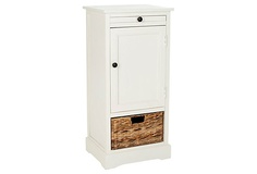 Matthews Storage Unit (White) on OneKingsLane.com {for entryway}