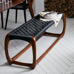 Such a shame West Elm doesn't make this John Vogel Bench any more.  So cool!