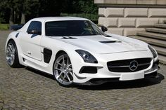 "SGA Aerodynamics is currently offering a full body kit for the impressive Mercedes-Benz SLS AMG to give it the sensational ""Black Series"" look..."