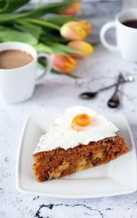 Ciasto marchewkowe bezglutenowe Carrot Cake, Happy Easter, My Recipes, Banana Bread, Carrots, French Toast, Gluten Free, Sweets, Breakfast