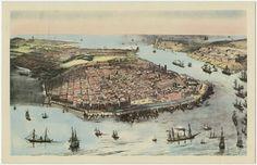 La Habana al medios del siglo XIX, 1851