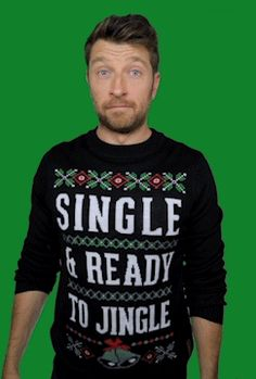 Trending GIF reaction cute christmas holiday me merry christmas gift glow reaction gif bow present ribbon brett eldredge christmas sweater ugly christmas sweater tipsy elves gift wrap giftwrap single and ready to jingle Ugly Sweater, Ugly Christmas Sweater, Brett Eldredge, Tipsy Elves, Christmas Holidays, Happy Holidays, Merry Christmas, Man Thing Marvel, Jolly Holiday