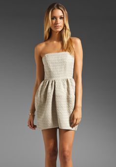 CAMILLA AND MARC Riddle Dress in Taupe at Revolve Clothing - Free Shipping!