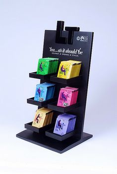 Display stand by The London Tea Company