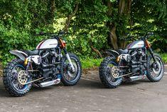 "Harley ""Martini Sporster's"" by Shaw Speed & Custom"