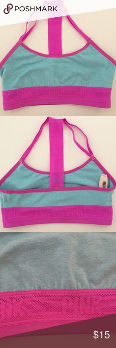 Pink by Victoria's Secret Unlined Sports Bra XS New with tag Pink by Victoria's Secret Unlined Sports Bra XS   Look at the VS size chart online if you are unsure about a size.   Please see my other listed items!   Items comes from a smoke-free in and pet-free home. Please note, the color may be slightly differ from the color shown in the photo. Brand new and 100% authentic. Please check the pictures and ask questions. Thanks! PINK Victoria's Secret Intimates & Sleepwear Bras