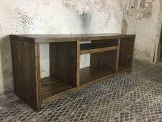 Hey, I found this really awesome Etsy listing at https://www.etsy.com/listing/251642395/rustic-scaffold-board-tv-media-unit-made