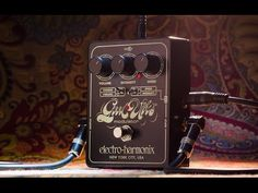 "Electro Harmonix - Good Vibes - Analog Modulator | Guitar Effects Pedals | ""The Good Vibes recaptures the iconic chorus/vibrato effect of the 1960s in an updated pedal with features designed to meet the needs of the modern player."" 