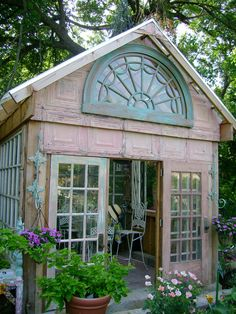 Greenhouse turned cottage
