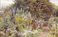 gertrude jekyll english gardens painting 1