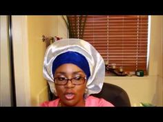 The easiest gele you will ever tie - YouTube How To Tie Gele, Scarf Design, African Attire, Head Wraps, Diy Tutorial, Headscarves, Easy, Bling, Random