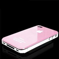 Light Baby Pink Hard Case For Apple iPhone 4 / 4S