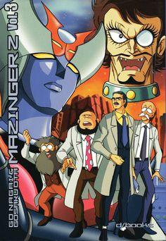 Mazinger Z Vol.3 by Go Nagai - Gosaku Ota (Kazuhiro Ochi cover)