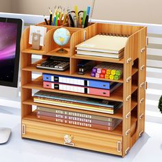 Quality Multi Mobile phone Wood Office desk storage box management desktop meeting cell phone rack Mobile phone holder with free worldwide shipping on AliExpress Mobile Simple Bookshelf, Wall Bookshelves, Bookshelf Ideas, Bookcases, Diy Desktop, Desktop Storage, Office Supply Storage, Desk Organization, Wood Office Desk