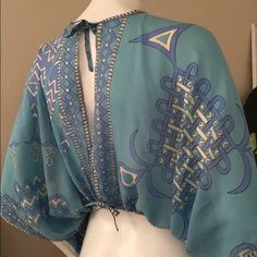 Emilio Pucci Tops - Authentic Vintage Emilio Pucci Silk Blouse
