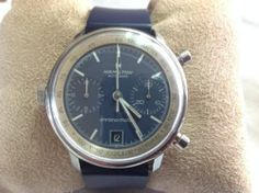 Hamilton Chronomatic Blue Dial Automatic Chronograph Immaculate Micro Rotor