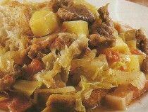 Carne Estufada com Legumes