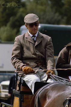 Prince Phillip at Royal Windsor Horse Show