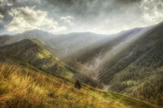 rays by Frank & Jules Oberle, via HDR with Hdr, Mountains, Nature, Travel, Beautiful, Naturaleza, Viajes, Trips, Nature Illustration