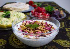 Masto-o khiar en fräsch och god persisk tzatsiki med många härliga smaker.