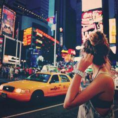 Tumblr, girl, woman, city, taxi, photography
