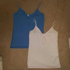 PINK tank top bundle Adjustable straps. No holes or missing buttons. No stains. PINK Victoria's Secret Tops Tank Tops
