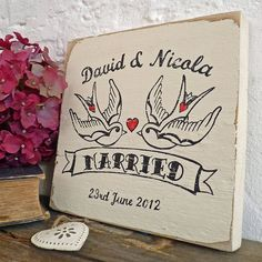 Cute vintage-style sign from Not on the High Street