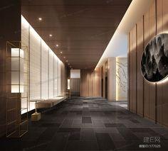 酒店过道- 建E网3d模型分享交流平台-3d模型下载-3d模型下载网站 Hair Salon Interior, Spa Interior, Lobby Interior, Interior Architecture, Corporate Interior Design, Corporate Interiors, Chinese Interior, Japanese Interior, Grand Hall