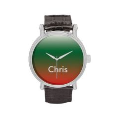 Chrismas Colors Vintage Watch