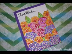 Complex masking and watercolouring with Stabilo 68 - YouTube