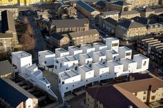 The Future of Social Housing: Urban Low-Rise, High-Density Developments - Architizer