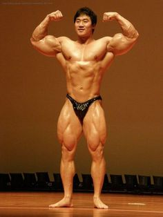 Lee Seung Chul (이승철, Korean Bodybuilder) / 2009 Mr.Gwangmyung, Guest Posing