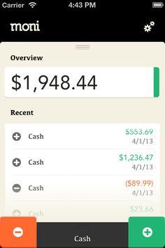 Moni (checkbook)  (Finance) - http://www.ipadsadvisor.com/moni-checkbook-finance