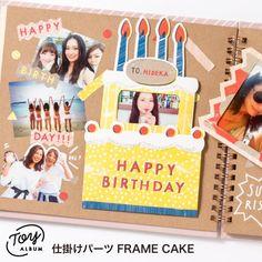 Cake Frame, Happy Birthday Me, Album, Scrapbooking Ideas, Decor, Rings, Decorating, Inredning, Interior Decorating