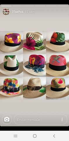 Painted Clothes, Summer Hats, Diy And Crafts, Cool Outfits, Cap, Manga, Drawings, Beach, Painting