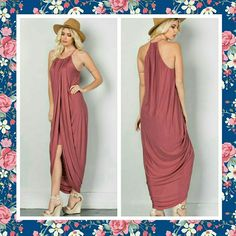 Boutique sexy maxi dress size small Super cute boutique dress. Brand new! Great paired with nude shoes like above. Also have medium and large in another listing. Dresses Maxi