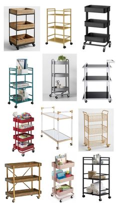 Creative Uses for Rolling Carts | Centsational Style