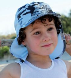 Boys Dozer Camo Legionnaire » MikyB. Perfect for the beach & play. Made from soft quick-dry microfibre fabric. The neck flap & curved peak ensures great protection from the sun. It s fast drying and is soft enough to fold up at take anywhere.