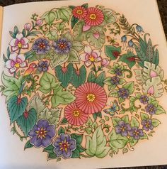 Colored by Kim Bennett