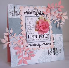 little princess cards: Chandeliers