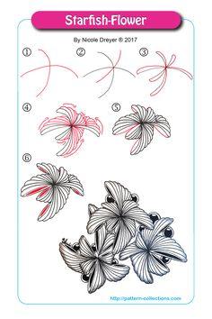 Starfish-Flower by Nicole Dreyer