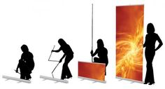 A roller banner is also called a roll up banner, pull up banner, or a pop up banner. Some clients found it is a big waste that the display stands only be used several times or for a very short period. It is a good idea that keep the banner stands and buy a new replacement banner. Replacing the graphic is a simple process. It is saving money and helping our environment. Know more at: http://www.torontodisplays.ca/products/banner-stands/
