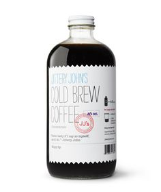 6 Extraordinary Cold Brew Coffee Finds Jittery John's Cold Brew Coffee Concentrate The three-year-old company (long in cold brew years) makes traditional New Orleans style coffee using chicory, the bittersweet root of endive. Dilute with water or use milk for an iced latte. To buy: $16 for one 32-ounce bottle, jitteryjohns.com.